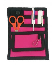 Verpleegkunde Organizer Zwart/Roze + GRATIS inhoud
