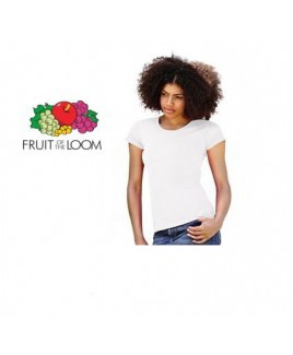T-Shirt Dames Wit