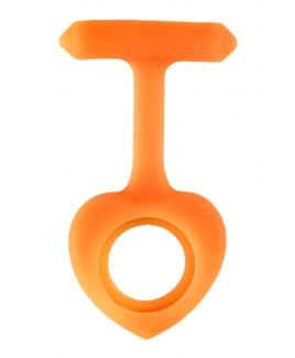 Siliconen Hoesje Hartje Oranje