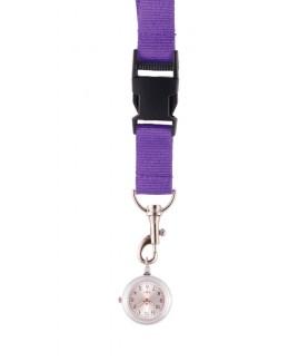 Lanyard/Keycord Horloge Paars