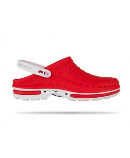 Wock Clog 17 Wit / Rood